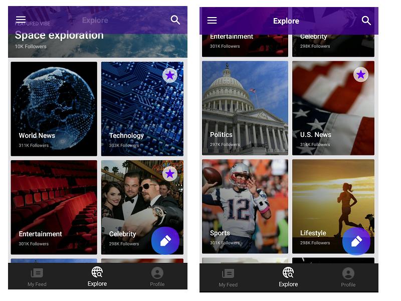 Yahoo Newsroom Categories